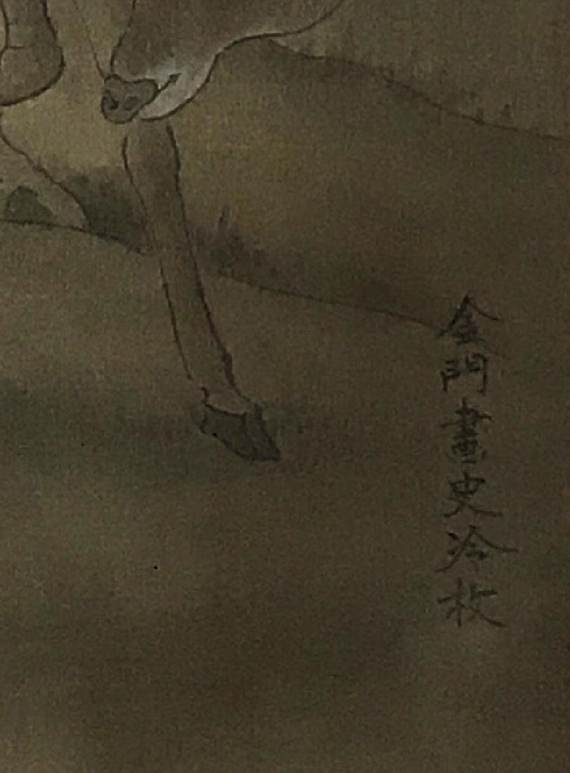 Chinese Scroll Painting of Figure - 4