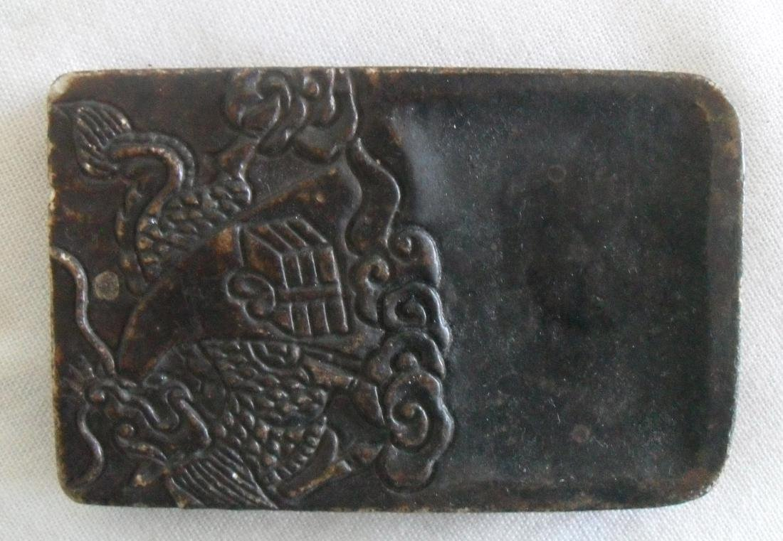 CHINESE ANTIQUE INK STONE - 2