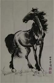 XU BEIHONG (1895-1953) HORSE