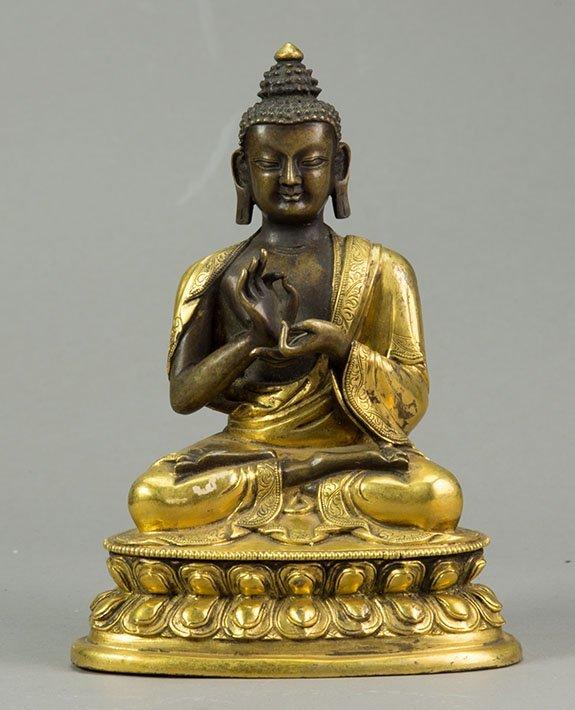 Chinese Gilt Budda