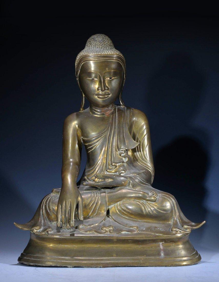 Antique Bronze Buddhe Figure