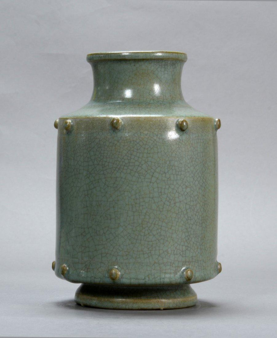 A Longquan statue style bottle