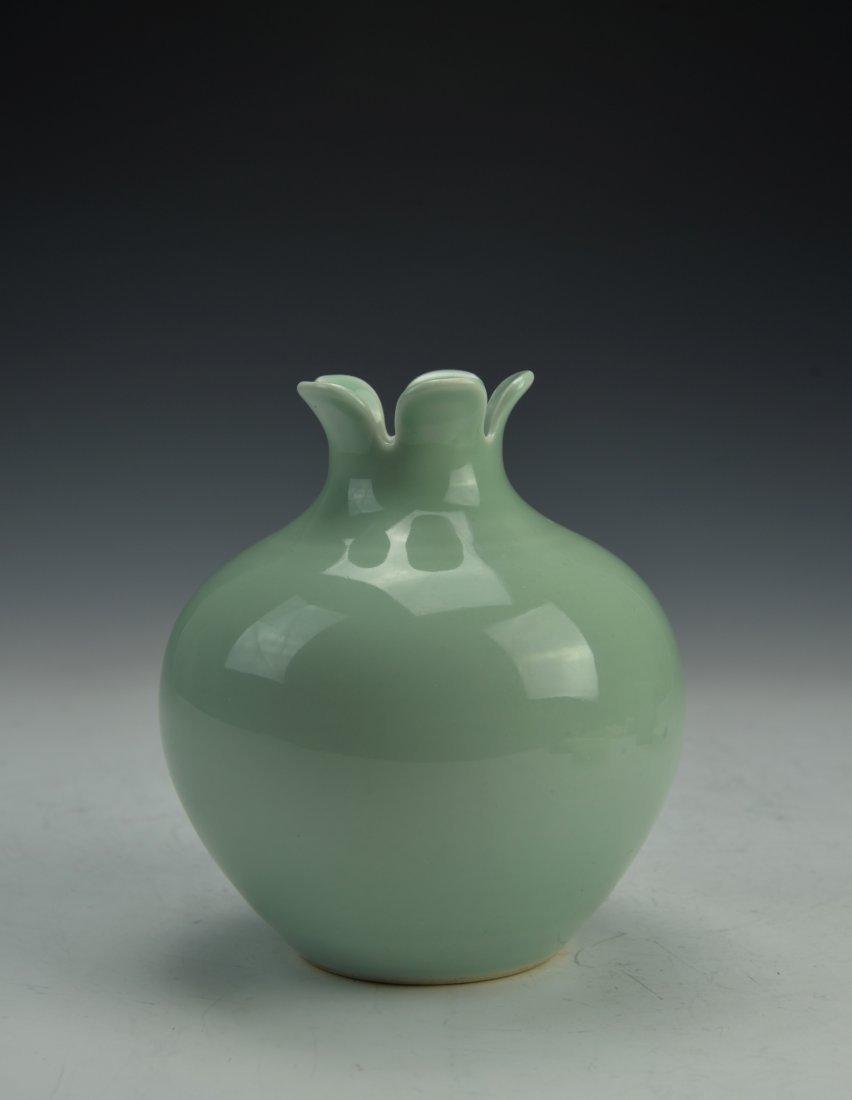 Chinese Longquan Celadon Porcelain Vase