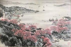 Song Wenzhi,landscape