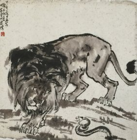 Chinese Painting, Attributed To Xi Bei Hong
