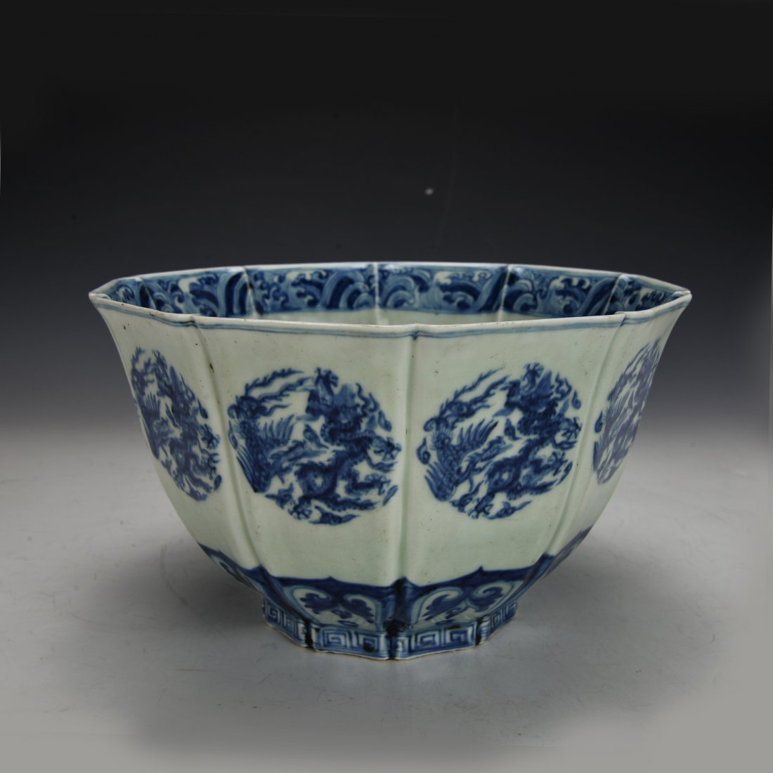 Chinese Antique Blue and White Bowl