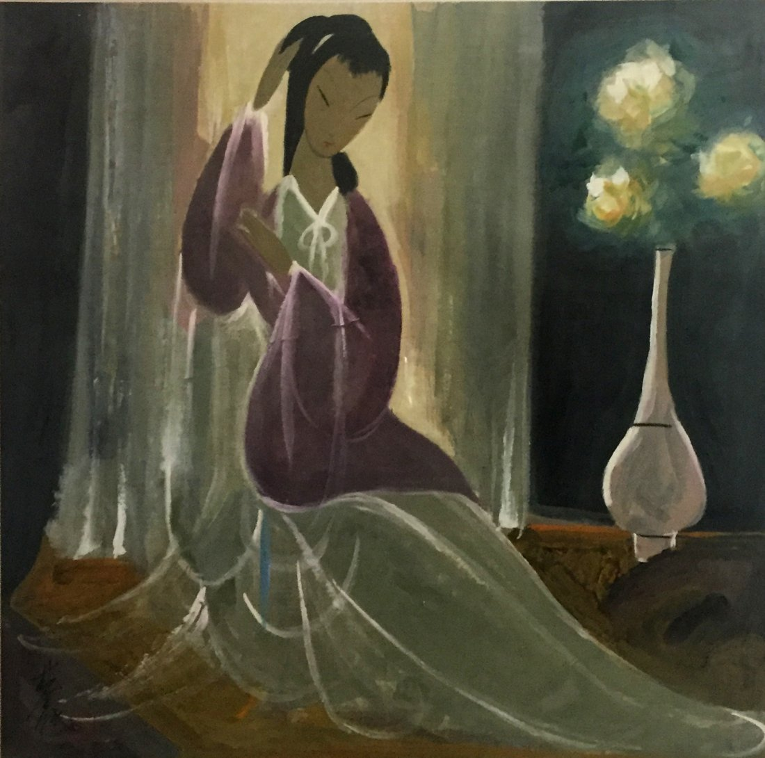 Lin Fengmian (1900-1991), Figure