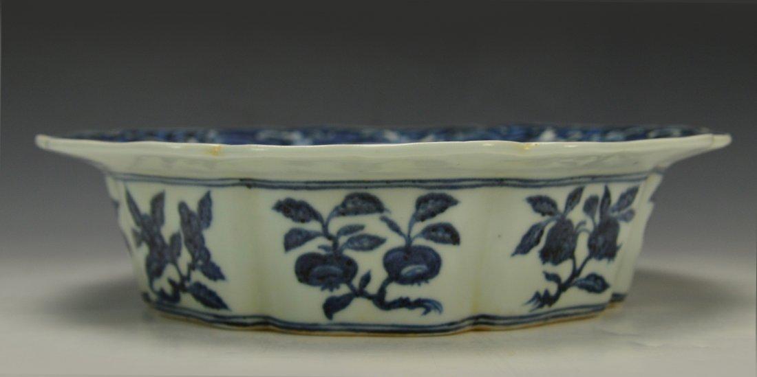 Chinese Blue and White Brushwasher - 7