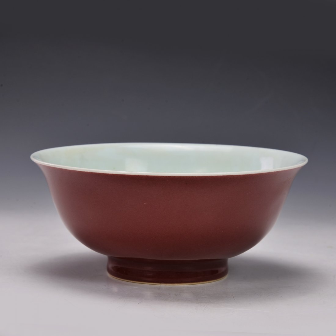 Chinese Red Glazed Bowl