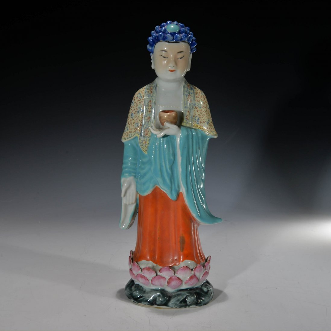 Chinese Porcelain Famille Rose Figures