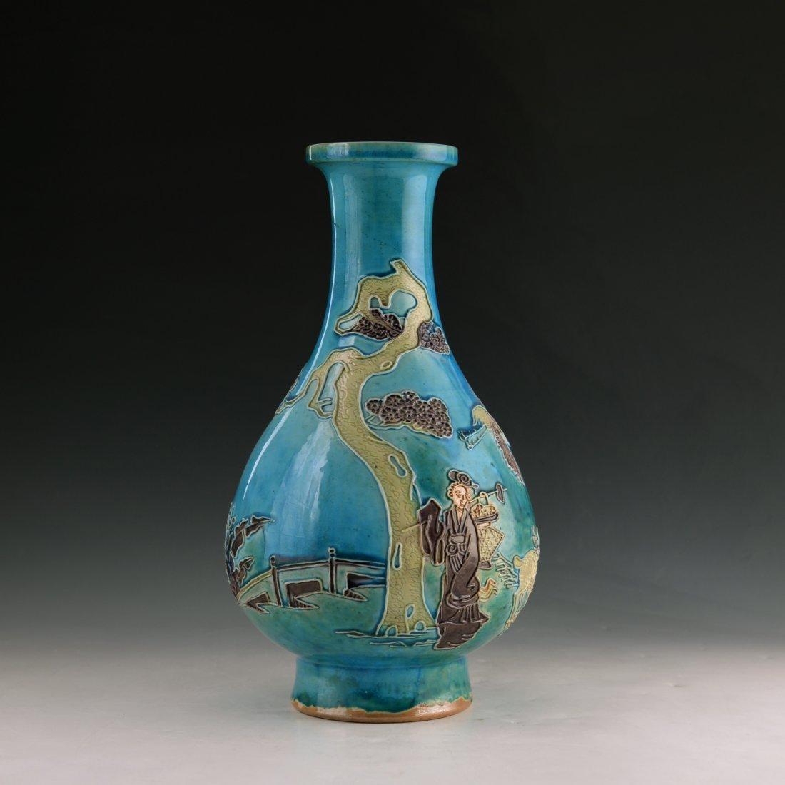Chinese Enamel Porcelian Vase