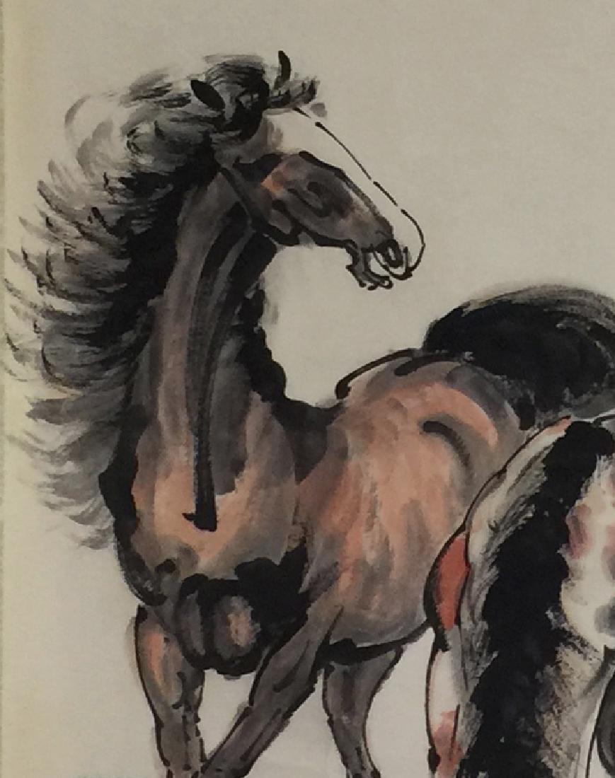 Xu Beihong (1895-1953), Hourses - 4