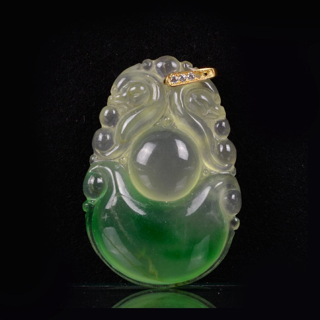 Chinese Jade Pendant - 3