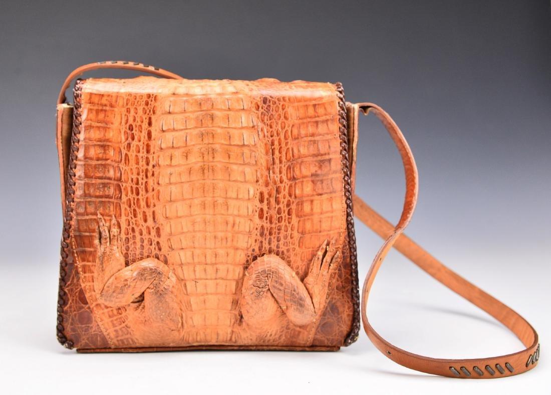 A Baby Crocodile Leather Bag - 3