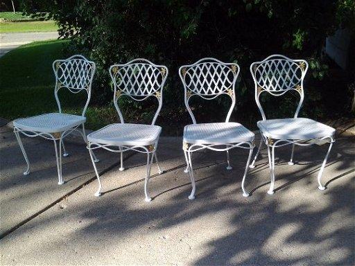 Patio Furniture Northville Mi.Russell Woodard Mcm Patio Furniture Table Chair Set Feb 16 2019
