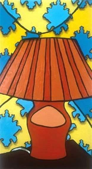 Melanie Russell: Orange Lamp