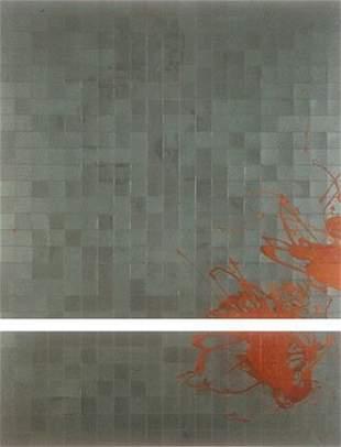 Alex Roberts: Untitled Series - Aqua Surfaces (Part