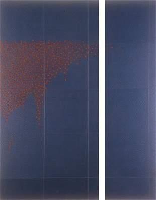 Alex Roberts: Untitled Series - Aqua Surfaces