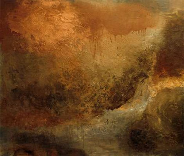 19: Bernadette Kiely: Sky Painting IV