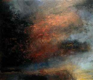 Bernadette Kiely: Sky Painting V