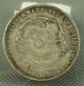 China 1890-1908 $1 Kwang Tung