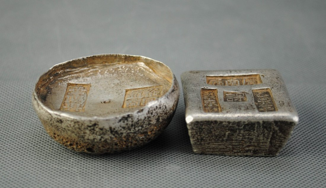 Two Silver Ingots