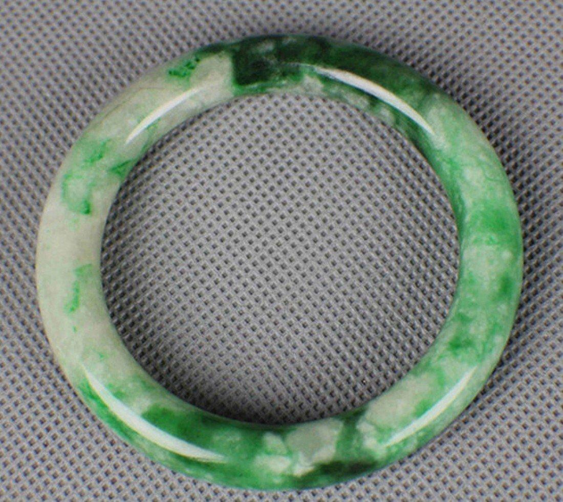 A Natural Jadeite Bracelet