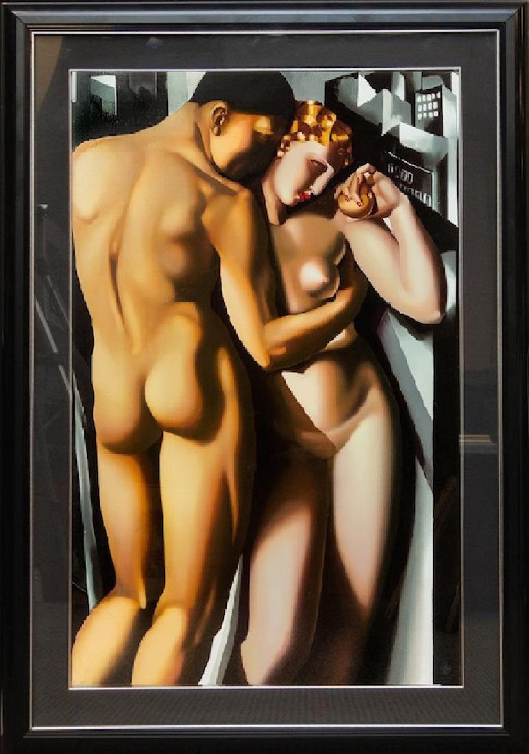 Tamara DE LEMPICKA (1898-1980) Adam and Eve