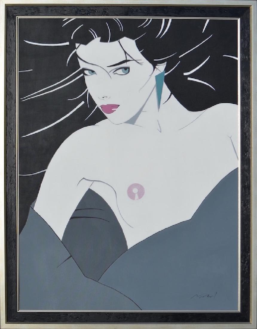 Attrib. Patrick NAGEL (1945-1984) Acrylic painting