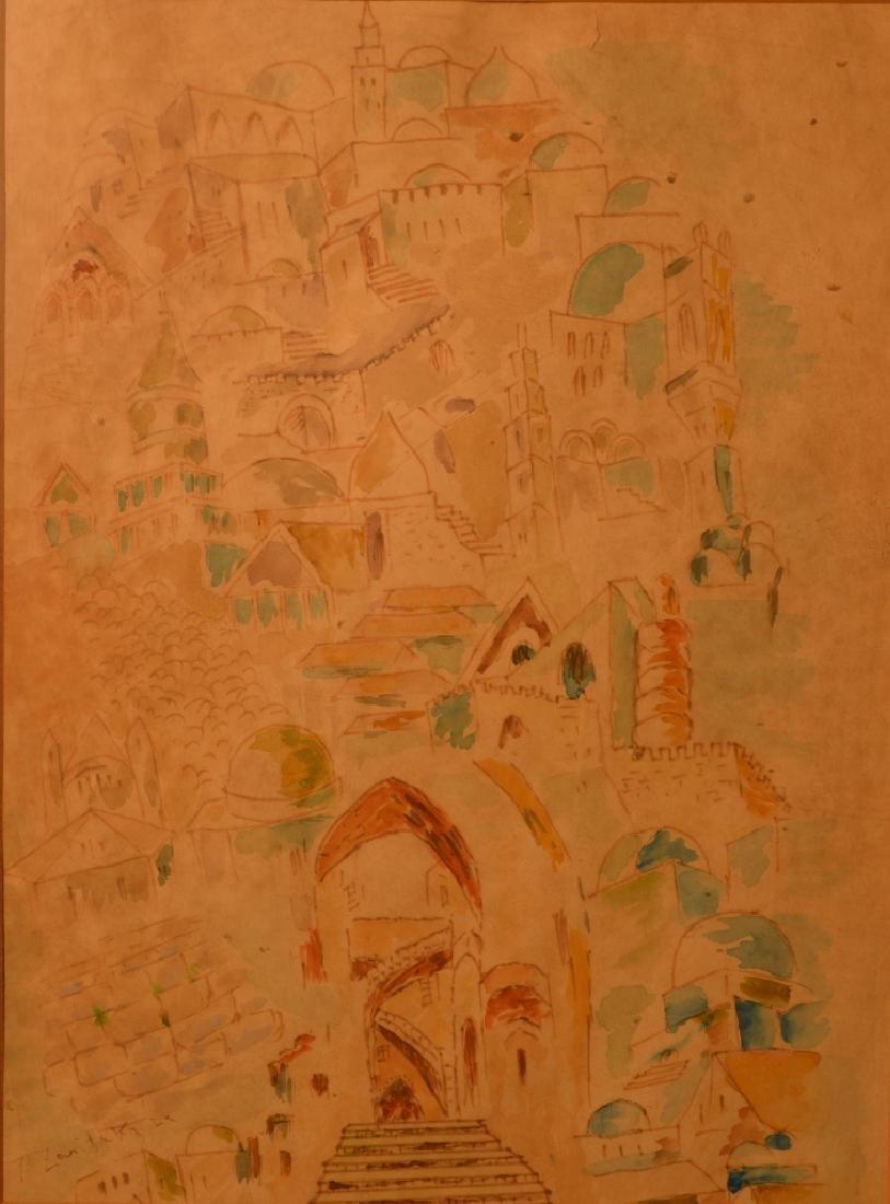 Joseph ZARITSKY (1891-1985) Ukrainian - Russian -