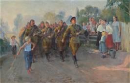 Mark KAPLAN (1905-1983) Ukrainian - Russian
