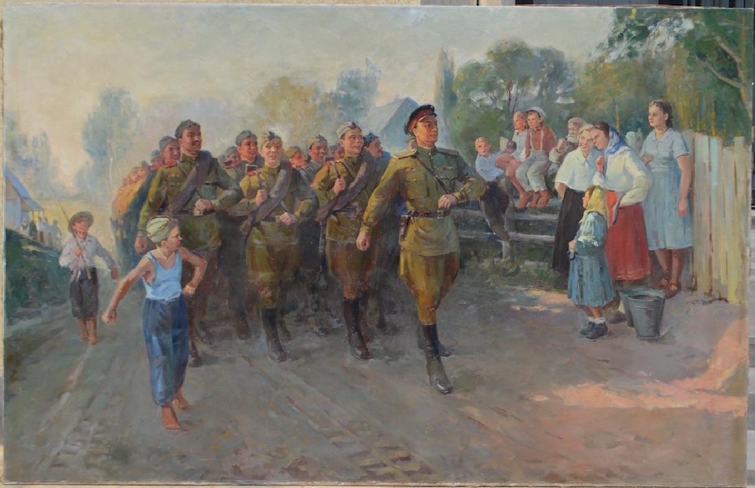 Mark KAPLAN (1905-1983) Ukrainian - Russian - 8