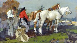 Alessio ISSUPOFF (1889-1957) Russian - Italian