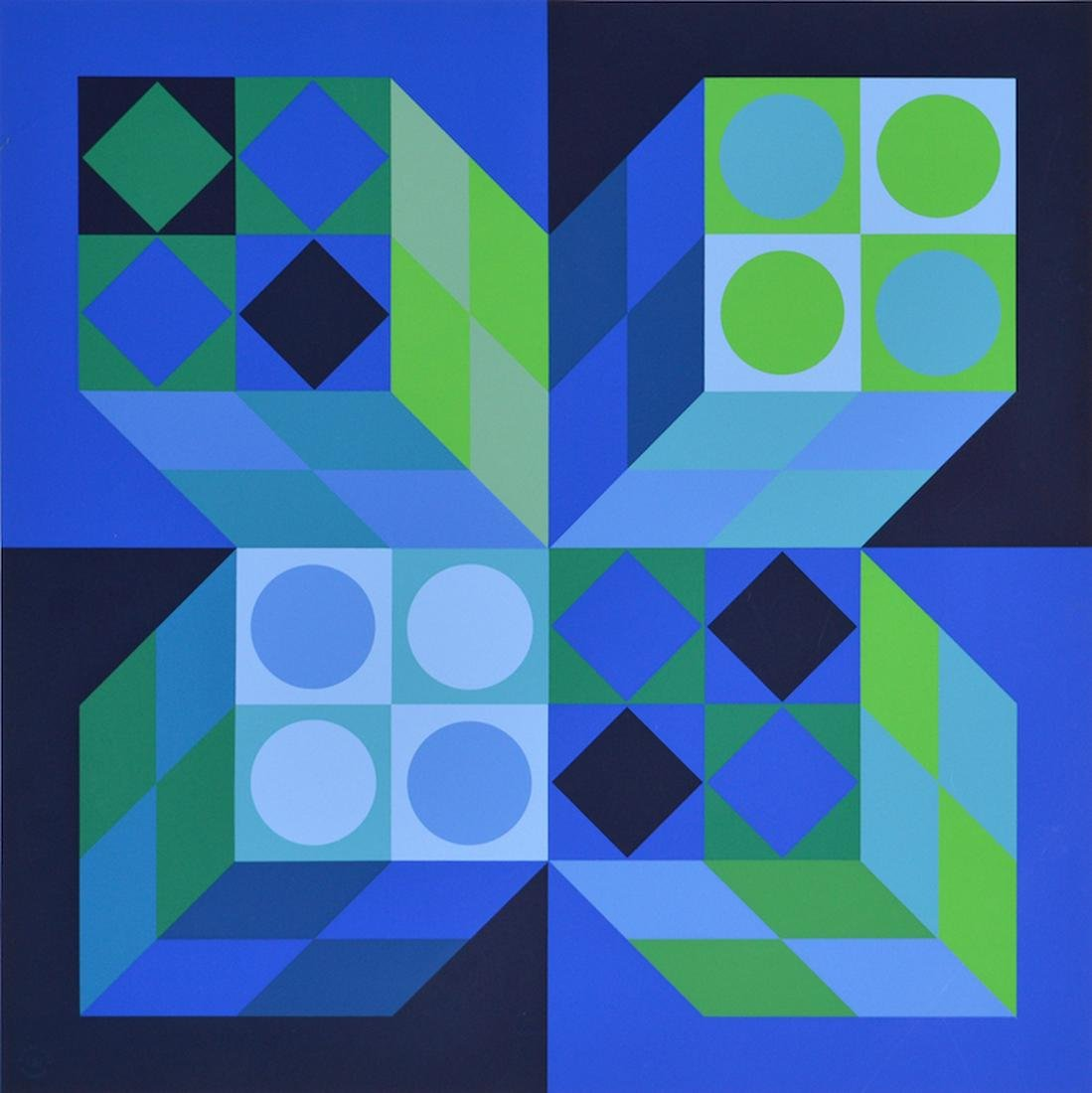 Victor VASARELY (1906-1997) Hungarian - French