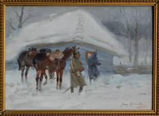 Jerzy KOSSAK (1886-1955) Polish