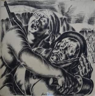 Anatol SHULKIN (1899-1961) Russian - American