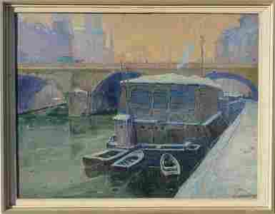 Vasily NECHITAYLOV (1888-1980) Russian - French -