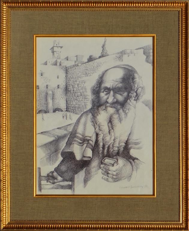 Emmanuel SNITKOVSKY (1933-2005) Ukrainian - American