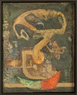 Bedri Rahmi EYUBOGLU (1911-1975) Turkish - French