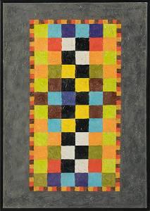 Alfred JENSEN (1903-1981) Guatemala - American