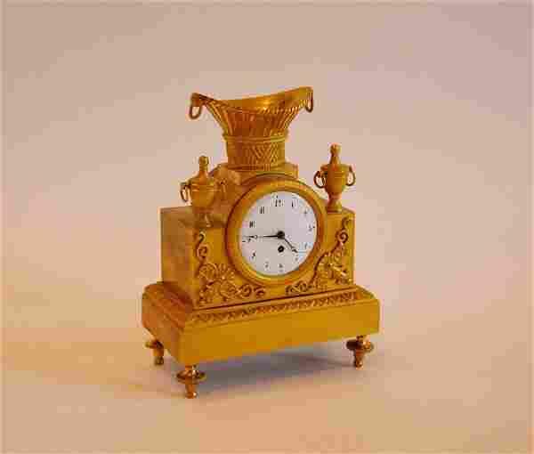 Romilly Paris - Bronze Clock Empire style