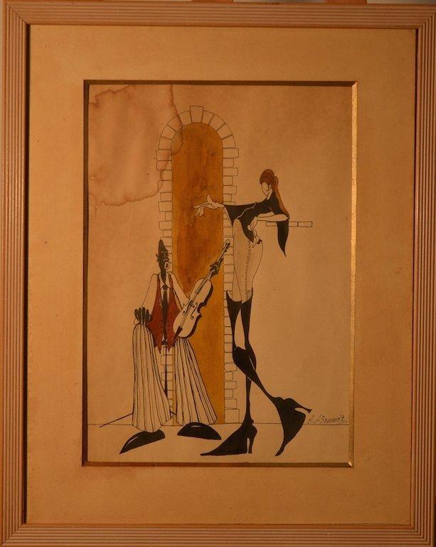 Albert ABRAMOVITZ (1879-1963) Latvia - Ukraine - USA