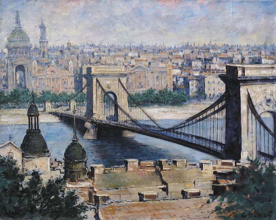 A. SZENDY (1903-1972) Ukrainian - Hungarian - American