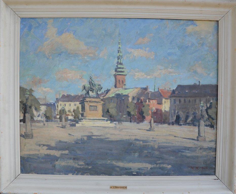Vilhelm HENRIQUES (1894-1966) Swedish