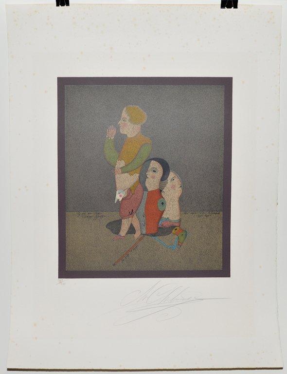 Mihail CHEMIAKIN (b.1943) original lithograph - 10