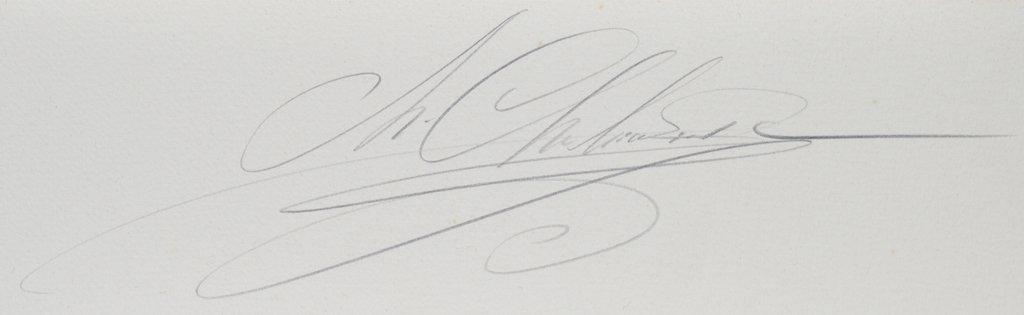 Mihail CHEMIAKIN (b.1943) original lithograph - 7