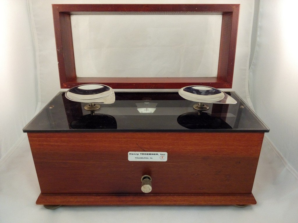 Antique Henry Troemner Apothecary Pharmacy Scale