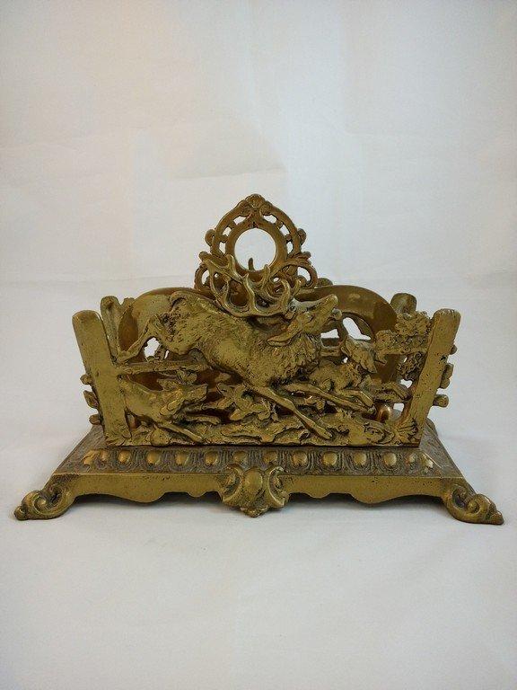 Victorian Cast Iron Letter/Napkin Holder