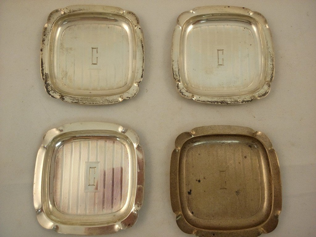 Sterling Silver Ashtrays