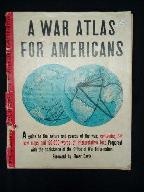 War Atlas Book